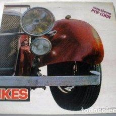 Discos de vinilo: LP LOS PEKENIKES S/T (CONTIENE POP CORN) SPAIN RARE 1972 GATEFOLD VINYL POLUCION. Lote 95216567