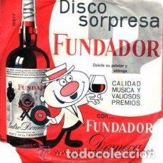 Discos de vinilo: FUNDADOR 10.082 - GRAN ORQUESTA DE BAILE– TANGOS - EP 1965. Lote 95218163