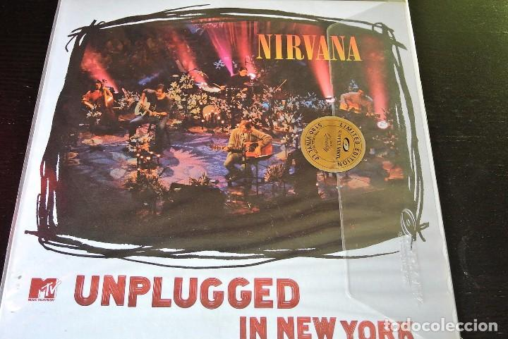LP NIRVANA unplugged in new york SIMPLY VINYL 180 LIMITED VINILO GRUNGE