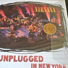 Discos de vinilo: LP NIRVANA UNPLUGGED IN NEW YORK SIMPLY VINYL 180 LIMITED VINILO GRUNGE. Lote 95219571