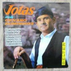 Discos de vinilo: ENVÍO GRATIS. JOTAS DE ARAGÓN CON GENARO DOMÍNGUEZ, DE FUENDEJALÓN. Lote 95231135