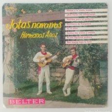 Discos de vinilo: ENVÍO GRATIS. JOTAS DE NAVARRA. HERMANOS ANOZ.. Lote 95231283