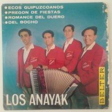 Discos de vinilo: ENVÍO GRATIS. LOS ANAYAK. . Lote 95231315