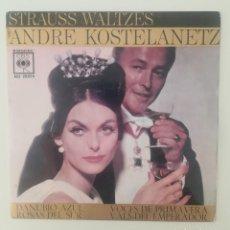 Discos de vinilo: ENVÍO GRATIS. VALSES DE STRAUSS. ANDRÉ KOSTELANETZ.. Lote 95231859