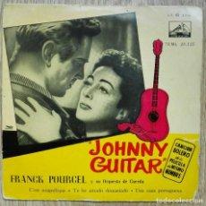 Discos de vinilo: ENVÍO GRATIS. FRANK POURCEL Y SU ORQUESTA DE CUERDA. JOHNY GUITAR. Lote 95232647
