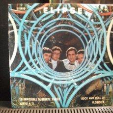 Discos de vinilo: ELIPSE ES IMPOSIBLE QUERERTE TANTO EP SPAIN 1974 PDELUXE. Lote 95236363