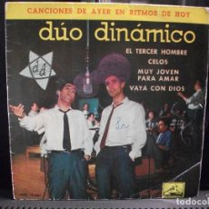 Discos de vinilo: DUO DINAMICO EL TERCER HOMBRE + 3 EP SPAIN 1961 PDELUXE. Lote 95236379