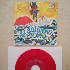 Discos de vinilo: ANTIGUO EP - EL SOLDADITO DE PLOMO - DISCOS - CUENTO DE ANDERSEN - ZAFIRO AÑO 1967 - DISCO ROJO. Lote 95244523