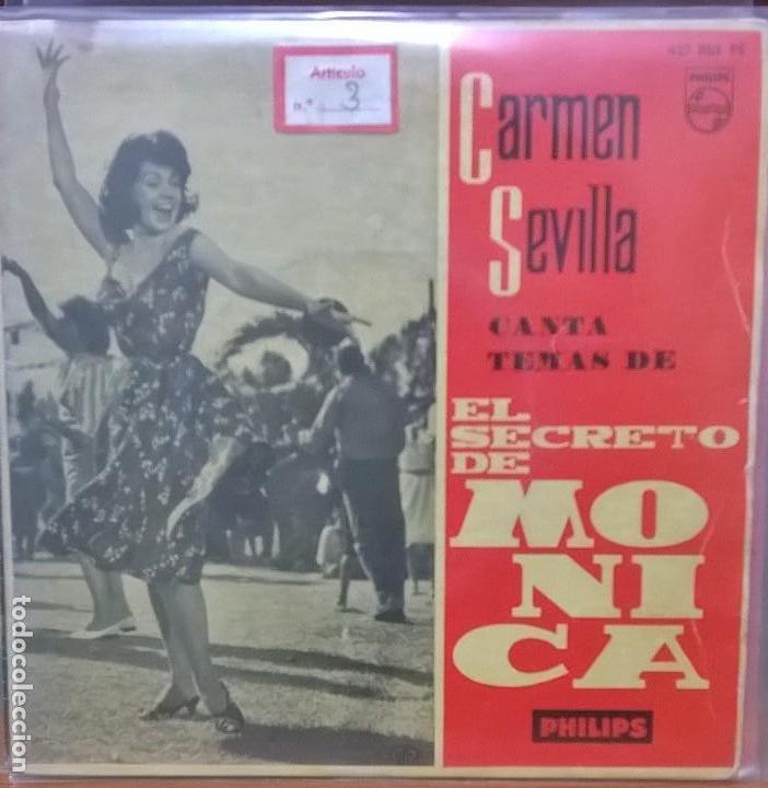 CARMEN SEVILLA (Música - Discos de Vinilo - EPs - Flamenco, Canción española y Cuplé)