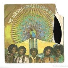 Discos de vinilo: SINGLE . DISCO DE VINILO . THE JACKSONS . ECHALE LA CULPA AL BOOGIE.. Lote 95258675
