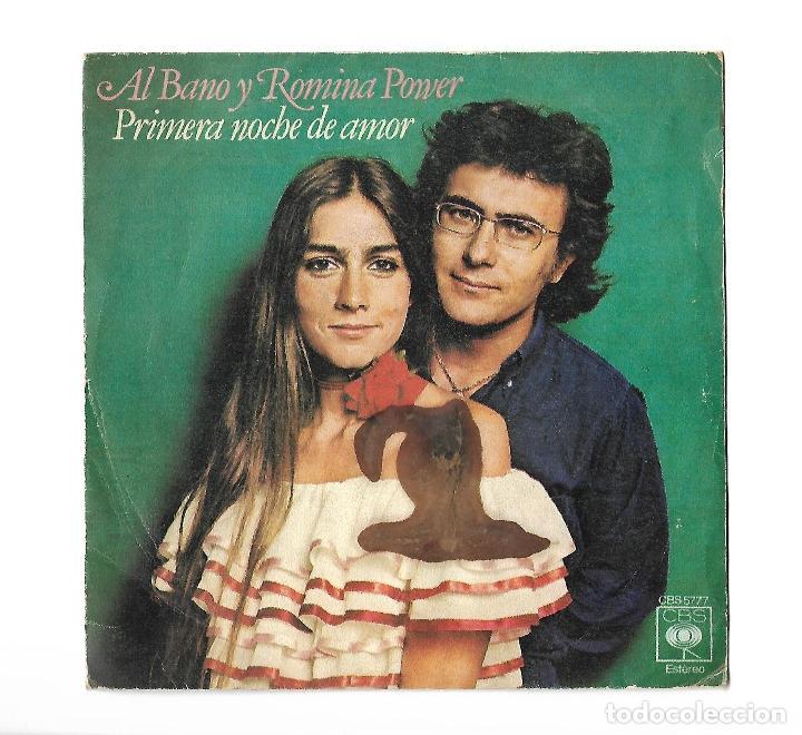 Single disco de vinilo al bano y romina pow comprar for Bano y romina power