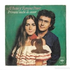 Discos de vinilo: SINGLE . DISCO DE VINILO . AL BANO Y ROMINA POWER.. Lote 95259363