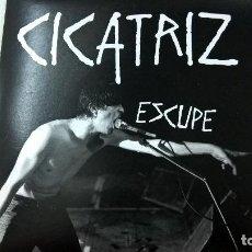 Discos de vinilo: CICATRIZ-ESCUPE-CUIDADO UROCRATAS-APRIETA EL GATILLO-MUNSTER RECORDS-N. Lote 95260635