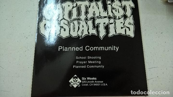 CAPITALIST CASUALTIES ?– PLANNED COMMUNITY-N (Música - Discos - Singles Vinilo - Punk - Hard Core)