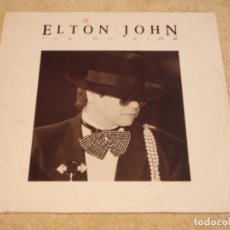 Discos de vinilo: ELTON JOHN ( ICE ON FIRE ) 1985 - HOLANDA LP33 THE ROCKET RECORD COMPANY. Lote 95260995