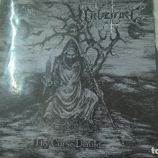 Discos de vinilo: CRUCIFIRE ‎– THY CURSE DENIED LABEL: CALABOZO RECORDS ‎– 006CR-N. Lote 95261339