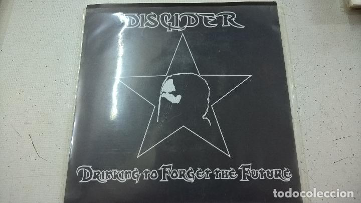 DISCIDER ?– DRINKING TO FORGET THE FUTURE-N (Música - Discos - Singles Vinilo - Punk - Hard Core)