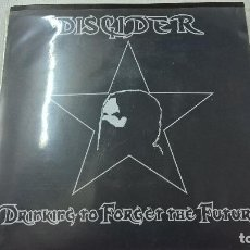 Discos de vinilo: DISCIDER ?– DRINKING TO FORGET THE FUTURE-N. Lote 95261675