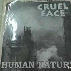 Discos de vinilo: CRUEL FACE / DUDMAN – HUMAN NATURE-N.. Lote 95261935