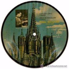 Discos de vinilo: COBLA SELVATANA– SARDANES - EP PICTURE DISC SPAIN 1972. Lote 95262103