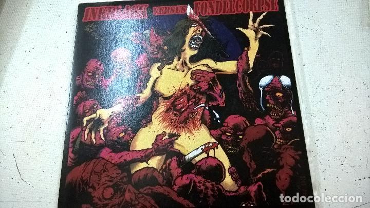 INKBLACK / FONDLECORPSE ?– INKBLACK VERSUS FONDLECORPS-N (Música - Discos - Singles Vinilo - Punk - Hard Core)