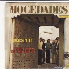 Discos de vinilo: SINGLE, VINILO, MOCEDADES. ERES TÚ. RECUERDOS DE MOCEDAD.. Lote 95267331