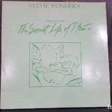 Discos de vinilo: STEVE WONDER'S JOURNEY THROUGH. THE SECRETS LIFE OF PLANTS. Lote 95275935