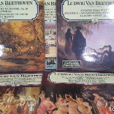 Discos de vinilo: LOTE DE 5 LPS DE LUDWIG VAN BEETHOVEN. Lote 95276519