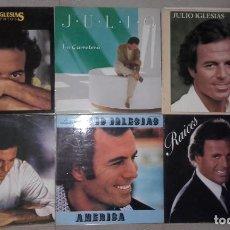 Discos de vinilo: LOTE 11 LP RAPHAEL JULIO IGLESIAS ROCIO DURCAL - LA CARRETERA, AYER HOY, EL CANCIONERO. Lote 95280275