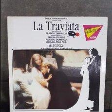 Discos de vinilo: LA TRAVIATA, BANDA SONORA ORIGINAL GIUSEPPE VERDI. Lote 95284063