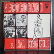 Discos de vinilo: RECORDANDO A NAT KING COLE VOL2. Lote 95285159
