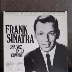 Discos de vinilo: FRANK SINATRA UNA VOZ EN LA CUMBRE. Lote 95287115