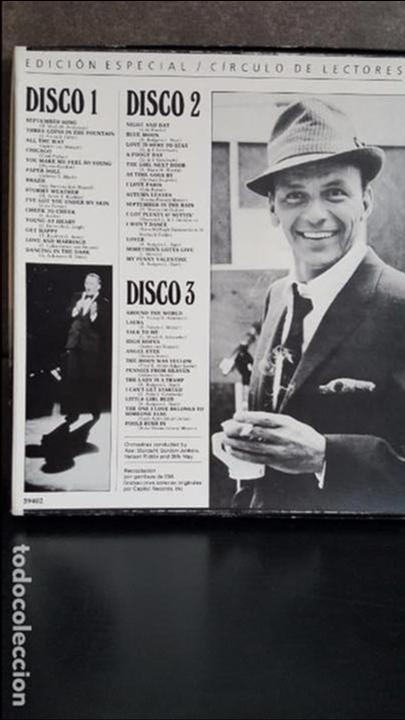 Discos de vinilo: FRANK SINATRA UNA VOZ EN LA CUMBRE - Foto 2 - 95287115