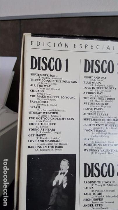 Discos de vinilo: FRANK SINATRA UNA VOZ EN LA CUMBRE - Foto 3 - 95287115