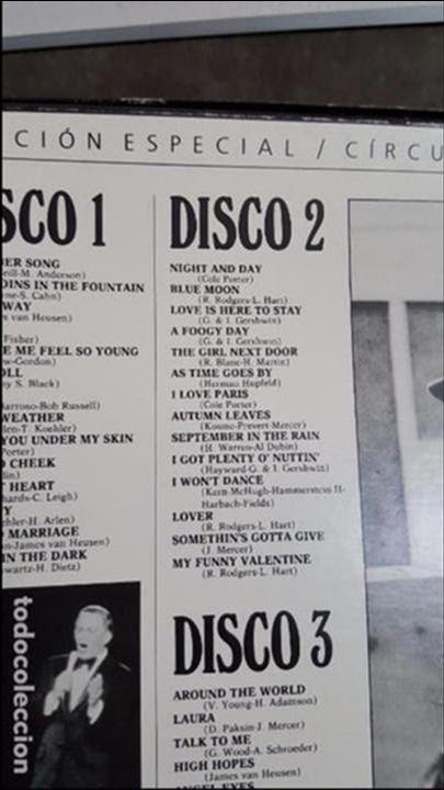 Discos de vinilo: FRANK SINATRA UNA VOZ EN LA CUMBRE - Foto 4 - 95287115