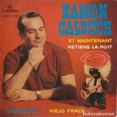 Discos de vinilo: RAMON CALDUCH - EP COLUMBIA 1962. Lote 95287939