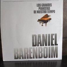 Discos de vinilo: LOS GRANDES PIANISTAS DE NUESTRO TIEMPO.DANIEL BARENBOIM. Lote 95289523
