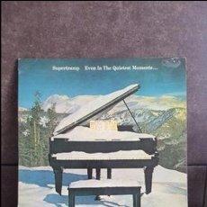 Discos de vinilo: SUPERTRAMP, EVEN IN THE QUIETEST MOMENTS. Lote 95289759