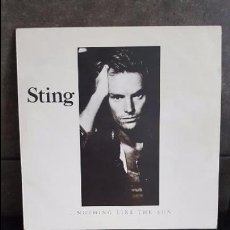 Discos de vinilo: STING, NOTHING LIKE THE SUN. Lote 95291295