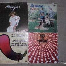Discos de vinilo: LOTE 8 LP CHICHOS BERTIN MARFIL ADAMO TRINCA CAMILO SESTO MARIA JIMENEZ. Lote 95291339