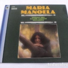 Discos de vinilo: LP MARIA MANOELA IDIOMA MEU SPAIN 1981 FALADE GALEGO GALICIA FOLK VINILO VINYL. Lote 95299783