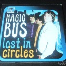 Discos de vinilo: 10 PULGADAS MAGIC BUS LOST IN CIRCLES SPAIN 2001 PSYCH MOD VINILO VINYL. Lote 95300739