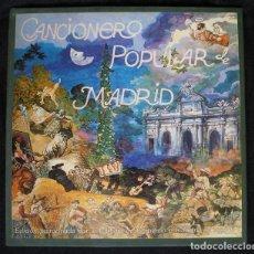 Discos de vinilo: ILUSTRADO POR MANUEL ALCORLO: CANCIONERO POPULAR DE MADRID - SELECCIÓN EN 2 LP + LIBRO. Lote 95311875