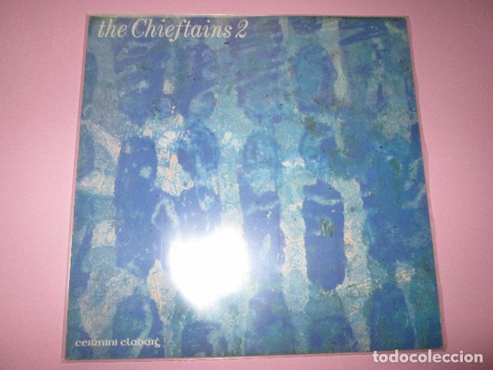 LP-THE CHIEFTAINS 2-CEIRNINI CLADDAGH RECORDS-1969-13 TEMAS-IRLANDA-FUNDAS NUEVAS,EXTERIOR E INTERIO (Música - Discos - LP Vinilo - Country y Folk)