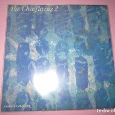 Discos de vinilo: LP-THE CHIEFTAINS 2-CEIRNINI CLADDAGH RECORDS-1969-13 TEMAS-IRLANDA-FUNDAS NUEVAS,EXTERIOR E INTERIO. Lote 95314539