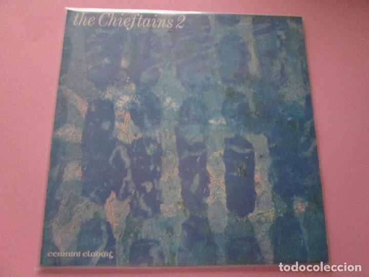 Discos de vinilo: lp-the chieftains 2-ceirnini claddagh records-1969-13 temas-irlanda-fundas nuevas,exterior e interio - Foto 2 - 95314539