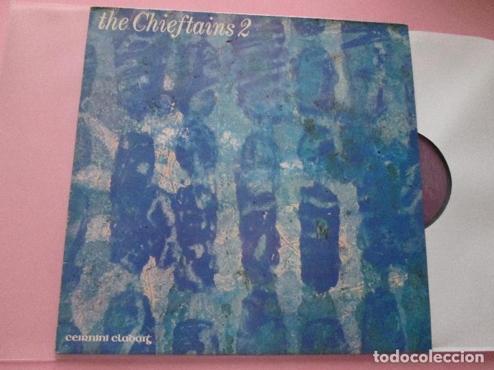 Discos de vinilo: lp-the chieftains 2-ceirnini claddagh records-1969-13 temas-irlanda-fundas nuevas,exterior e interio - Foto 4 - 95314539