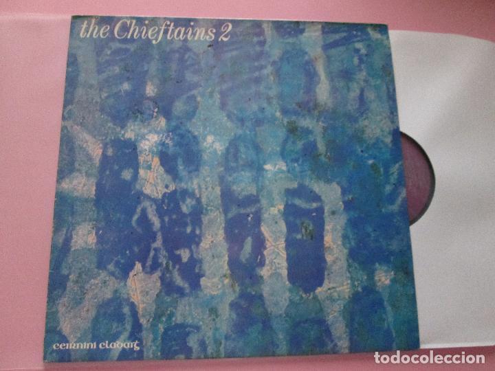 Discos de vinilo: lp-the chieftains 2-ceirnini claddagh records-1969-13 temas-irlanda-fundas nuevas,exterior e interio - Foto 8 - 95314539
