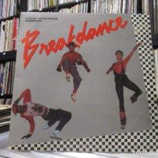 Discos de vinilo: BREAKDANCE - ORIGINAL MOTION PICTURE SOUNDTRACK - LP . Lote 95317731
