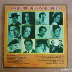 Discos de vinilo: LP VINILO. LO MEJOR DE LOS MEJORES. RECOPILATORIO (BELTER 1973). Lote 95327835